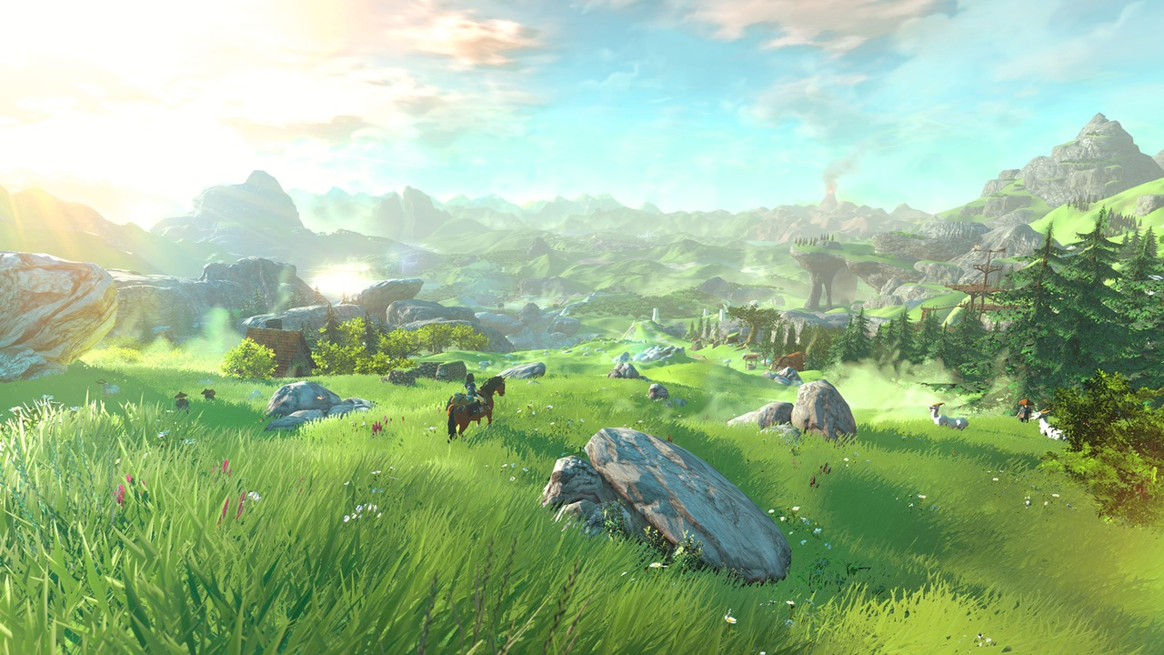 Screenshot de Zelda sur Wii U