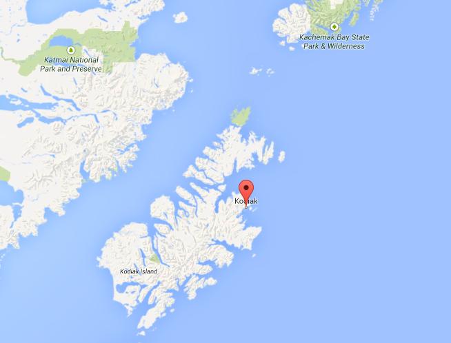 Kodiak Alaska GoogleMaps