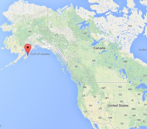 Kodiak  Alaska large GoogleMaps