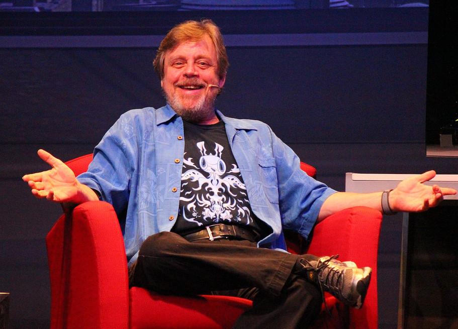 Marl Hamill lors du Star Wars Weekend 2014 / CC Ricky Brigante