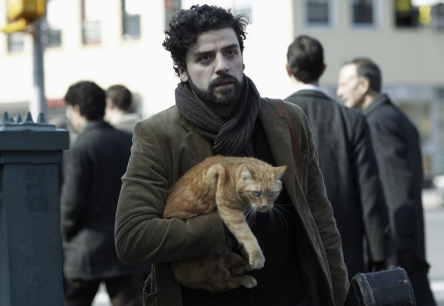Oscar Isaac dans Inside Llewyn Davis, le dernier film des frères Cohen (2013)