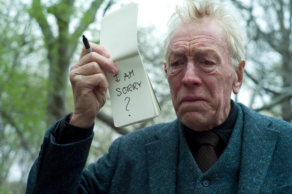 Max von sydow dans Extrêmement fort et incroyablement près, sa dernière apparition au cinéma (2011)