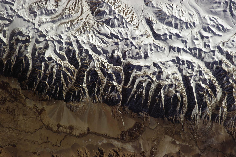 L'Himalaya. L'Everest n'apparaît pas.