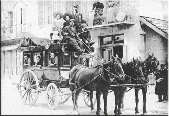 Avant l'arrivée des moteurs à explosion, les chevaux connaissaient le plein emploi.