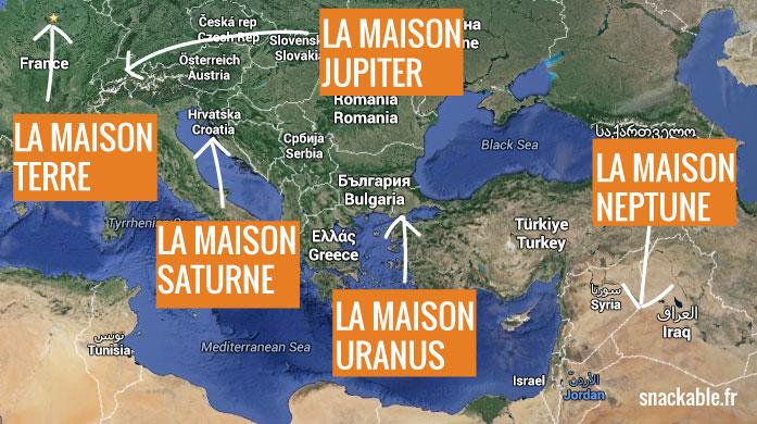 Si la Terre faisait 10m de long, Neptune serait situé à 3500 km soit quasiment en Irak !