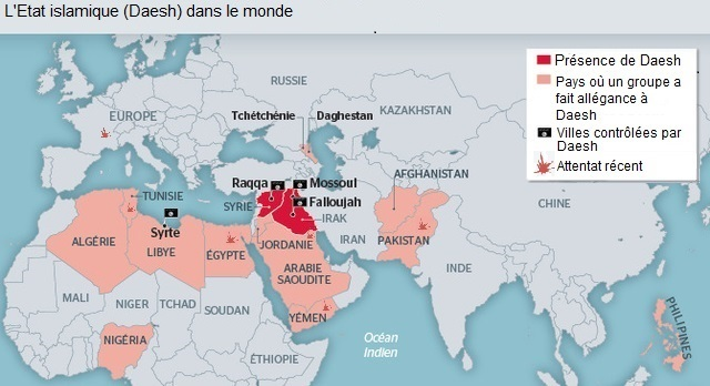"Le ""label"" Daesh étend son influence dans lensemble du monde musulman"