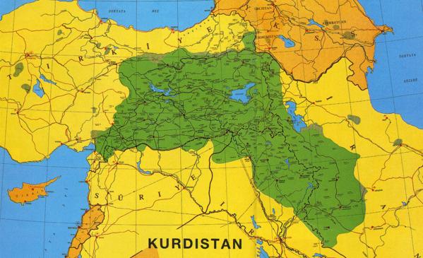 Le Kurdistan selon institutkurde.org