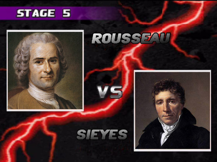 Rousseau VS Sieyes TEKKEN 3