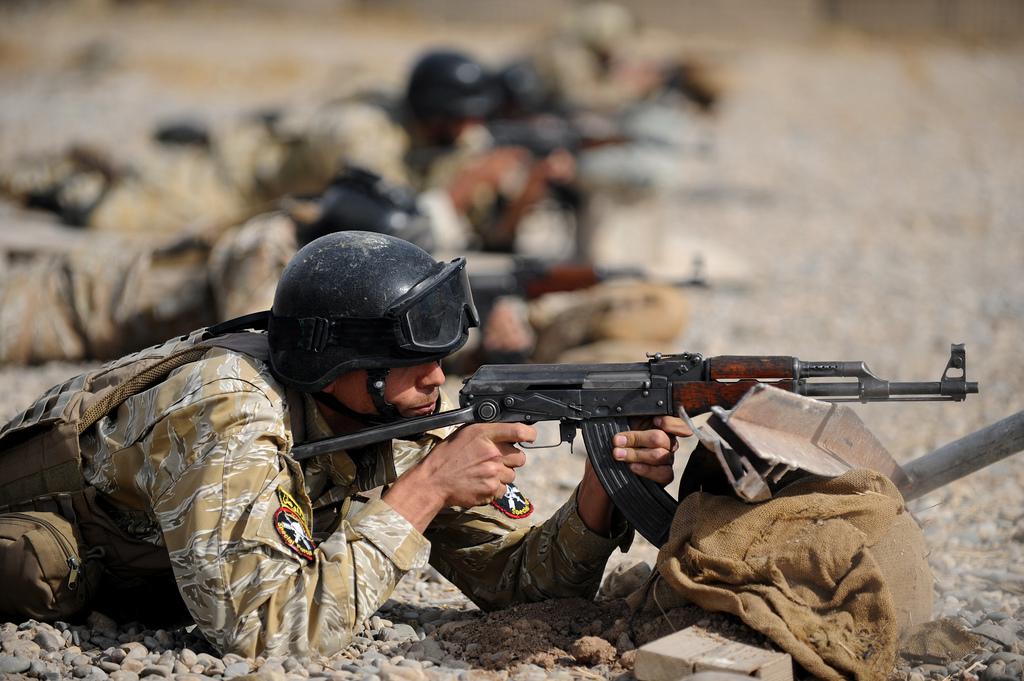 Militaires irakiens formés par les troupes US - CC - DVIDSHUB