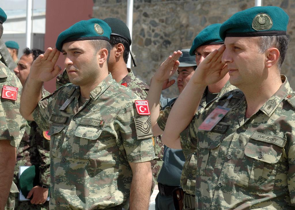 Des soldats turcs en mission pour l'OTAN. En Irak, la Turquie a décidé d'agir seule. CC - OTAN