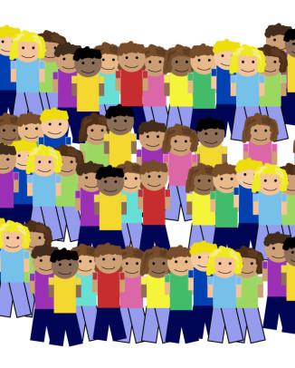 100 villageois qui représentent la population française
